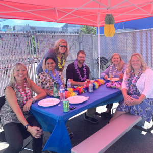 Fostering a positive work environment at the Copiers Northwest company lunch